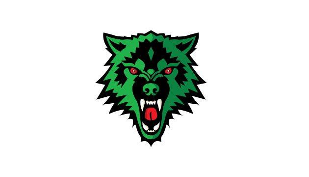 Green Wolf Logo